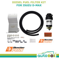 Diesel Fuel Filter Water separator Isuzu D_Max II TF with Bracket 8/2010 onward