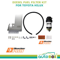 Diesel Fuel Filter Water Separator Toyota Hilux KUN26 3.0L mount bracket 2005-15