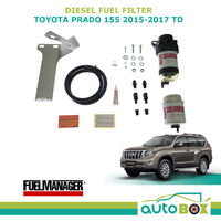 DIESEL FUEL FILTER WATER SEPARATOR Pre-Filter for TOYOTA PRADO 155 2015-2018 TD