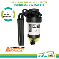 Diesel Fuel Filter Water Separator Pre-Filter for Nissan D22 D23 D40 (Manual)