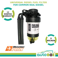 Diesel Fuel Filter / Separator Universal Pre-Filter Common Rail Diesel -5 Micron