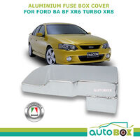 Aluminium Fuse Box Cover Ford BA BF Falcon XR6 Turbo XR8 FPV GT Typhoon GTP