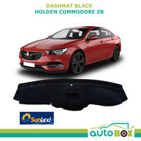 Sunland Black Interior DASHMAT fits Holden Commodore ZB with HUD LT RS RS-V VXR