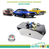 Aluminium Windscreen Washer w/ Pump Holden HQ HK HT HG HJ HX HZ LC - LX Polished