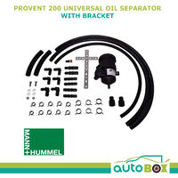 Provent 200 Universal Oil Separator with Bracket 4WD Diesel Breather Catch Can