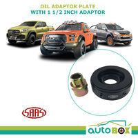 SAAS 4WD Alloy Oil Adaptor Sandwich Plate Oil Pressure Gauge plus 1 ?« adaptor