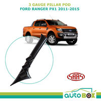 SAAS 3 Gauge Pillar Pod Ford Ranger PX 2011-2015 MK1 Holder 52mm