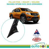 2 Gauge Pillar Pod for Nissan Navara NP300 D23 & Mercedes Benz X-Class 2015-on