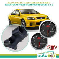 Pillar Pod w/ 0-20 Turbo Boost 0-900 Ext Temp VE Commodore Ser 1 & 2 SV6 SS SSV