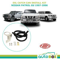 SAAS Oil Catch Can Mounting Kit For Nissan Patrol GU 4.2L TD42T 1997-2006