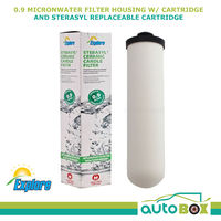 Inline Water Filter removes Bacteria and Sediment Sterasyl Replaceable Cartridge