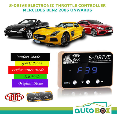 SAAS Electronic Throttle Controller for Mercedes Benz 2006 onwards S Drive